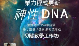 神性DNA業力程式更新一階基礎工作坊__證書班_8/5.6台北