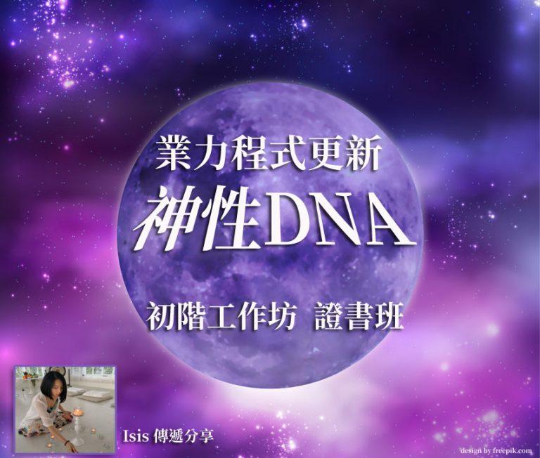 神性DNA業力程式更新一階基礎工作坊__證書班_10/28.29台北