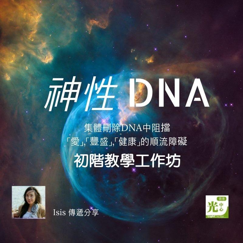 神性DNA業力程式更新初階工作坊__5/20.21台北